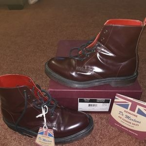 Made in England Oxblood Pietro Dr. Martens boots